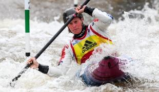 2018 ICF Canoe Slalom World Cup 1 Liptovsky Slovakia KUHNLE Corinna AUT