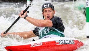 2018 ICF Canoe Slalom World Cup 2 Krakow Mateusz POLACZYK POL