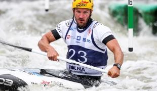 2018 ICF Canoe Slalom World Cup 2 Krakow Michal JANE CZE