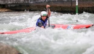 2018 ICF Canoe Slalom World Cup 3 Augsburg Germany Nadine Weratschnig AUT