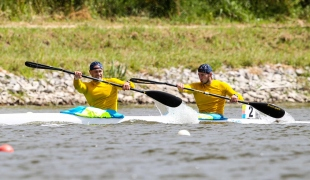 oleh kukharyk vitaliy tsurkan icf canoe kayak sprint world cup montemor-o-velho portugal 2017 146