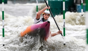 2018 ICF Canoe Slalom World Cup 2 Krakow Ricarda FUNK GER