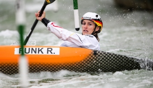 2018 ICF Canoe Slalom World Cup 3 Augsburg Germany Ricarda Funk GER