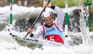 2018 ICF Canoe Slalom World Cup 1 Liptovsky Slovakia SCHUBERT Sebastian GER
