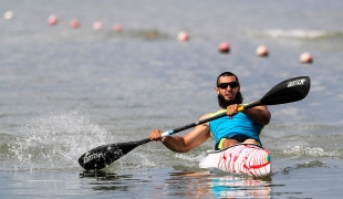 2018 ICF Canoe Sprint World Cup 1 Szeged Hungary Serhii Yemelianov UKR