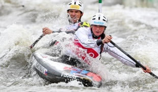2018 ICF Canoe Slalom World Cup 2 Krakow Sona STANOVSKA - Jan BATIK