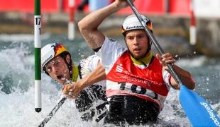 tomas becker robert behling icf canoe slalom world cup 2 augsburg germany 2017 001