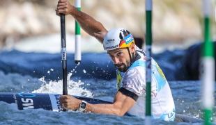 2019 ICF Canoe Slalom World Championships La Seu d'Urgell Spain Hannes AIGNER