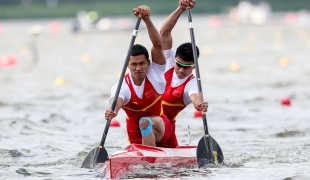 2019 ICF Sprint World Cup 1 Poznan Poland Hao LIU-Pengfei ZHENG China