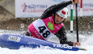2019 ICF Canoe Slalom World Cup 1 London Issam CHAKIR Morocco