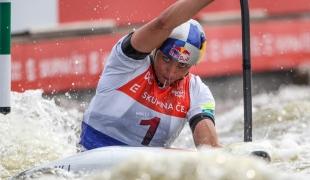 2021 ICF Canoe Slalom World Cup Prague Jessica FOX