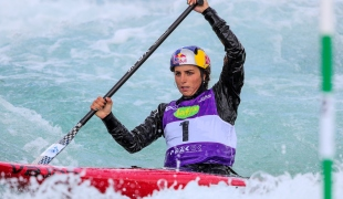 2019 ICF Canoe Slalom World Cup 1 London Jessica FOX Australia