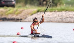 2021 Canoe Sprint European Olympic Qualifier Joana VASCONCELOS
