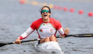 2021 ICF Canoe Sprint Olympic Qualifier Barnaul Joana VASCONCELOS