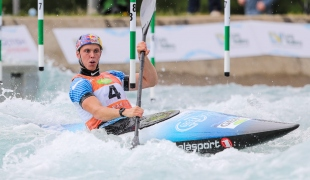 2019 ICF Canoe Slalom World Cup 1 London Joseph CLARKE Great Britain