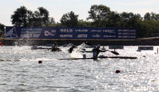 2020 ICF Canoe Sprint World Cup Szeged Hungary K1 Men 200m Heat III