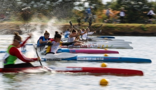 2020 ICF Canoe Sprint World Cup Szeged Hungary K1 Women 200m Semi-final I