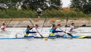 2020 ICF Canoe Sprint World Cup Szeged Hungary K2 Women 500m – Semi-final I