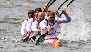 2019 ICF Sprint World Cup 1 Poznan Poland K4 Men Germany