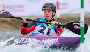 2019 ICF Canoe Slalom World Cup 1 London Kimberley WOODS Great Britain
