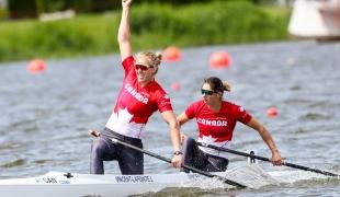 2019 ICF Sprint World Cup 1 Poznan Poland Laurence VINCENT-LAPOINTE-Katie VINCENT Canada