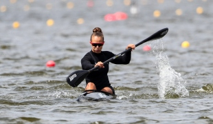 2019 ICF Sprint World Cup 1 Poznan Poland Lisa CARRINGTON New Zealand