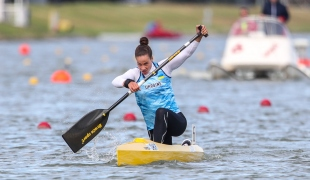 2020 ICF Canoe Sprint World Cup Szeged Hungary Liudmyla LUZAN