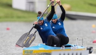2021 ICF Canoe Sprint World Cup Szeged Liudmyla LUZAN, Anastasiia CHETVERIKOVA