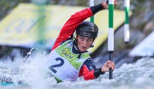 2019 ICF Canoe Slalom World Championships La Seu d'Urgell Spain Mallory FRANKLIN