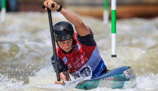 2021 ICF Canoe Slalom World Cup Markkleeberg Mallory FRANKLIN