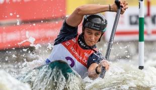 2021 ICF Canoe Slalom World Cup Prague Mallory FRANKLIN
