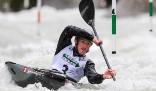 2020 ICF Canoe Slalom World Cup Ljubljana Slovenia Michal SMOLEN