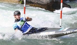 2021 ICF Canoe Slalom Junior & U23 World Championships Ljubjlana Miquel Trave