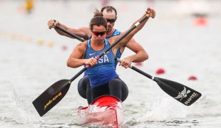 2020 ICF Canoe Sprint World Cup Szeged Hungary Nevin HARRISON - Ian ROSS