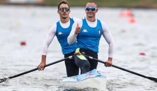 2020 ICF Canoe Sprint World Cup Szeged Hungary Nicolae CRACIUN - Daniele SANTINI