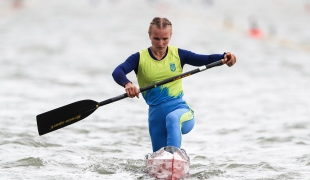 2020 ICF Canoe Sprint World Cup Szeged Hungary Olena TSYHANKOVA