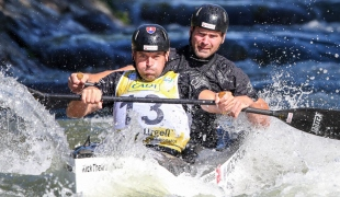 2019 ICF Wildwater Canoeing World Championships La Seu dUrgell Spain Pavol and Peter HOCHSCHORNER