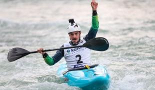 2020 ICF Canoe Extreme Slalom World Cup Ljubljana Slovenia Pedro GONCALVES