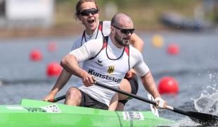 2021 ICF Canoe Sprint World Cup Barnaul Peter KRETSCHMER, Ophelia PRELLER