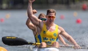 2021 ICF Canoe Sprint World Cup Barnaul Petter MENNING, Melina ANDERSSON
