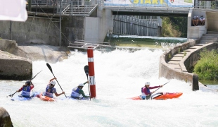 2021 ICF Canoe Slalom Junior & U23 World Championships Ljubjlana Pinteric Lampic
