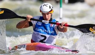 2019 ICF Canoe Slalom World Cup 4 Markkleeberg Ricarda FUNK