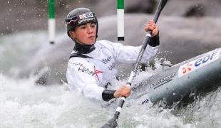 2020 ICF Canoe Slalom World Cup Ljubljana Slovenia Romane PRIGENT