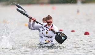 2021 Canoe Sprint European Olympic Qualifier Sarah BRUESSLER, Melanie GEBHARDT