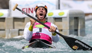 2019 ICF Canoe Slalom World Cup 1 London Sideris TASIADIS Germany