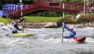 2019 ICF Canoe Slalom World Championships La Seu d'Urgell Spain Slovakia C1 Men's Team