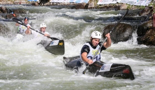 2019 ICF Wildwater Canoeing World Championships La Seu dUrgell Spain Slovenia K1 Men Team