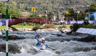 2019 ICF Canoe Slalom World Championships La Seu d'Urgell Spain Spain K1 Men's Team