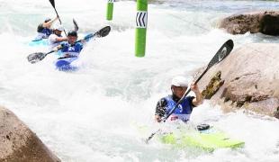2021 ICF Canoe Slalom Junior & U23 World Championships Ljubjlana Tine Kancler