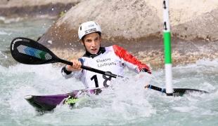 2021 ICF Canoe Slalom Junior & U23 World Championships Ljubjlana Titouan Castryck